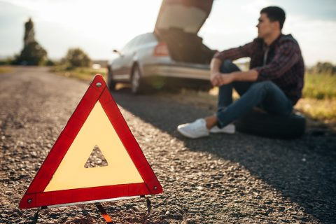What to do in a car emergency