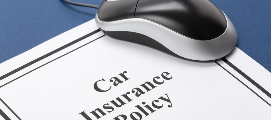 A car insurance policy